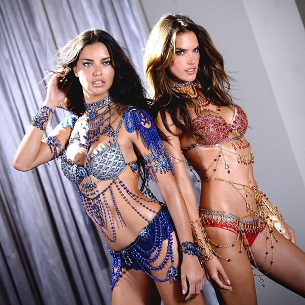 a5dea249717 The greatest catwalk on Earth! Angels Alessandra Ambrosio and Adriana Lima  lead the way at the Victoria s Secret Show as they dazzle in  2m Dream  Angels ...